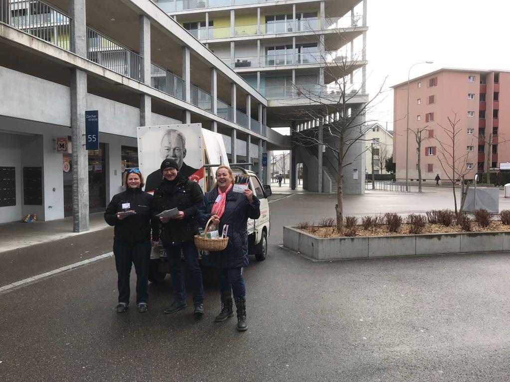 «SVP Dietikon bi de Lüt» in den Quartieren – Teil II