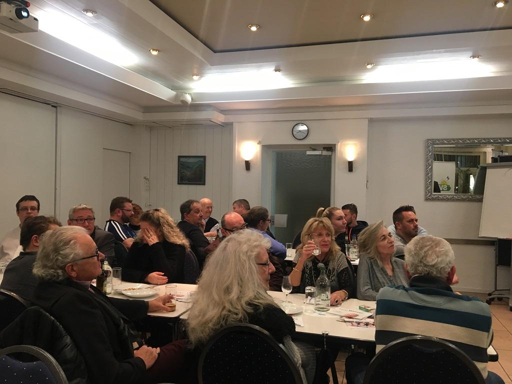 Parteiversammlung mit hochkarätigen Referenten